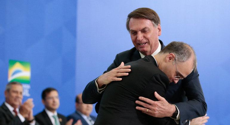 André Mendonça, indicado ao STF por Bolsonaro: sabatina no senado prevista para agosto.  Foto: Carolina Antunes/PR