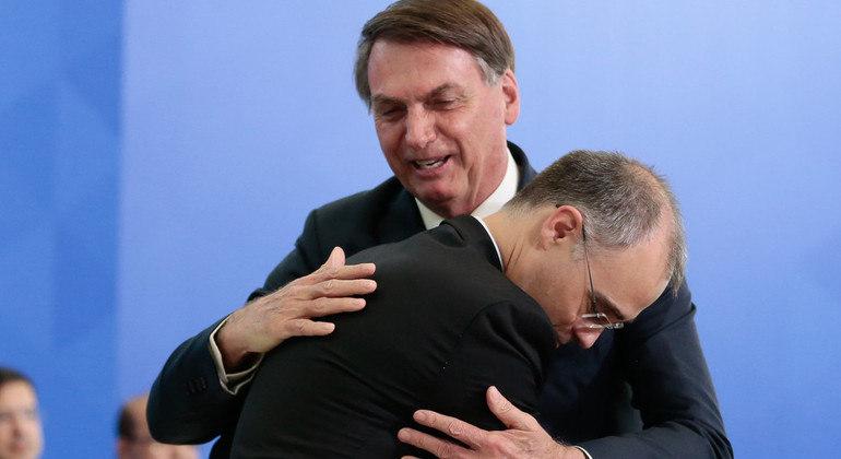 Presidente da República, Jair Bolsonaro deve manter a indicação de André Mendonça ao STF