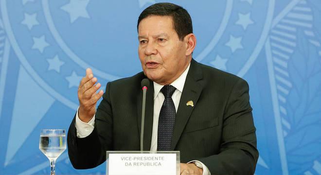 Mourão garantiu compromisso contra o desmatamento e o garimpo ilegal