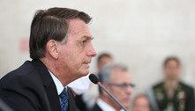 Bolsonaro chega cedo ao Planalto para reunião com ministros