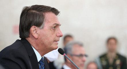 Bolsonaro chegou ao Planalto por volta de 7h40