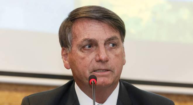 O presidente Jair Bolsonaro, que sancionou medida para micro e pequenas empresas