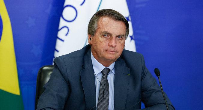 O presidente Jair Bolsonaro, que voltou a falar de fraude eleitoral sem prova