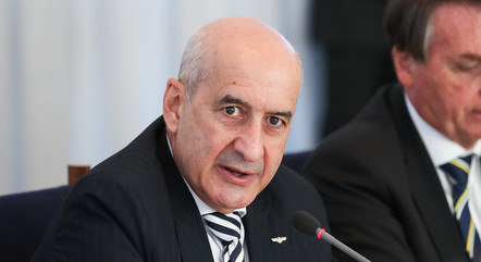 O ministro Luiz Eduardo Ramos