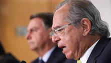 'Prioridade para agora é saúde, emprego e renda', diz Guedes