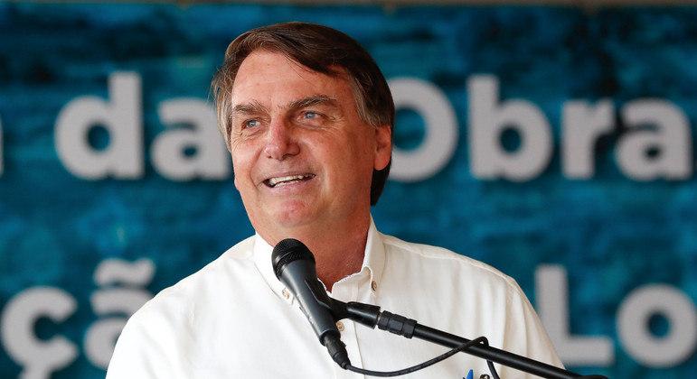 Bolsonaro em visita à Bahia, na semana passada