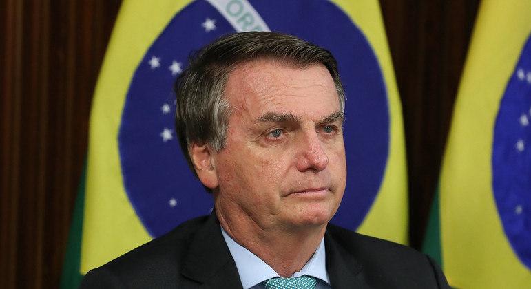 Bolsonaro discursou na Cúpula do Clima