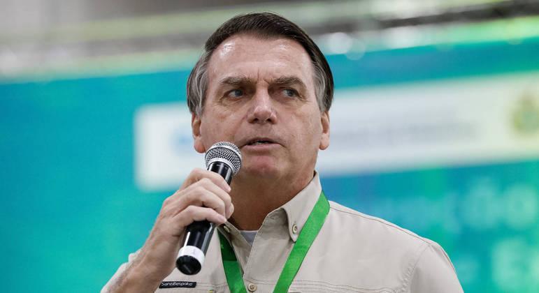 Bolsonaro também defendeu governo na vacinação contra a covid-19