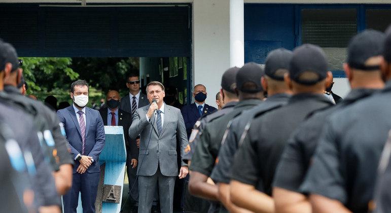 Mudanças estruturais nas policias Civil e Militar são defendidas por aliados do governo Bolsonaro