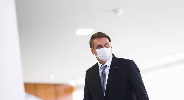 Bolsonaro durante evento em Brasília