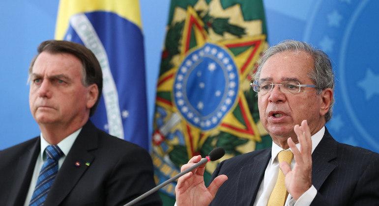Paulo Guedes afirma com frequência que economia brasileira demonstra recuperação