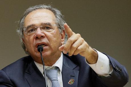 Guedes participou de conferência virtual nesta terça