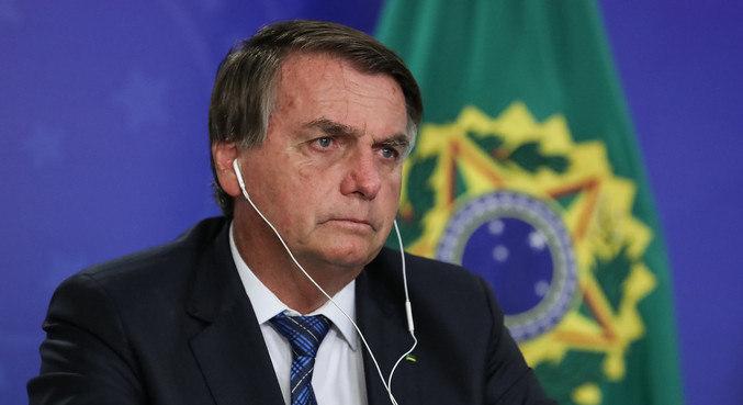 O presidente Jair Bolsonaro, que se reuniu com relator da PEC