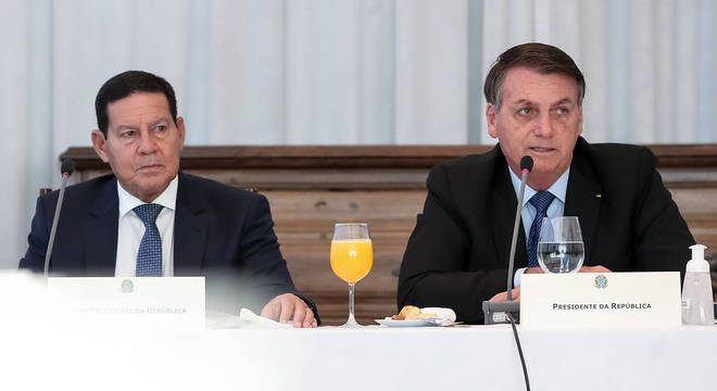 Na imagem, 34ª Reunião do Conselho de Governo