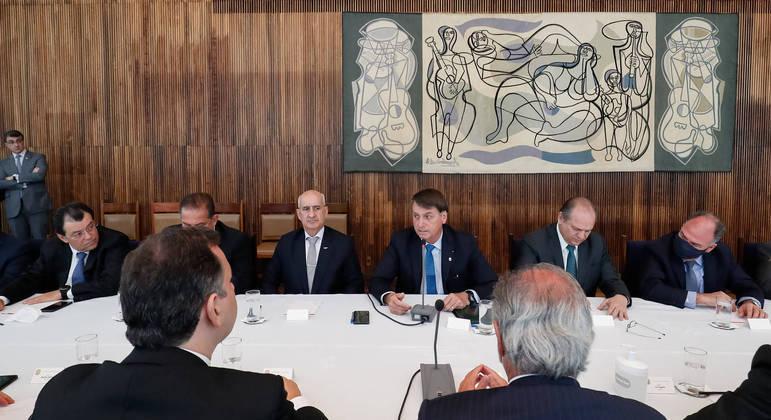 O encontro ocorrerá no Palácio da Alvorada, residência oficial do presidente, e será fechado à imprensa.