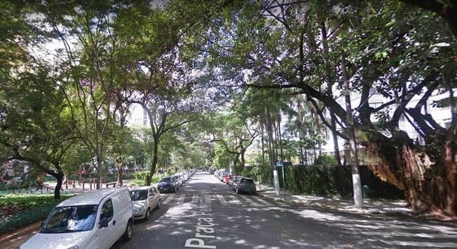 Crime ocorreu na praça Pereira Coutinho, em Moema, na zona sul de SP