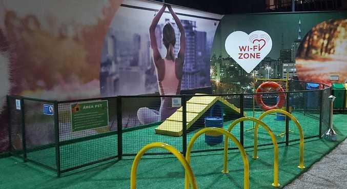 Praça pet friendly inaugurada em maio no Brooklin: um convite para aproveitar melhor a cidade