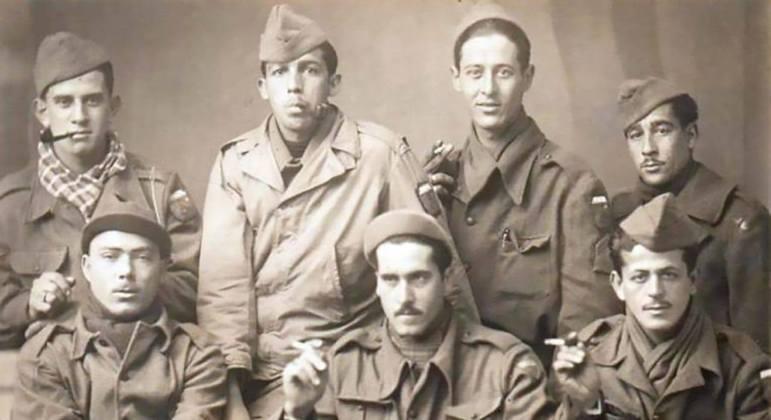 Pracinhas brasileiros ajudaram forças aliadas a conter invasão alemã na Segunda Guerra