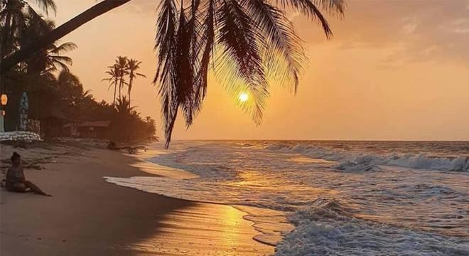 Palomino é uma das praias preferidas de turistas como Joanna