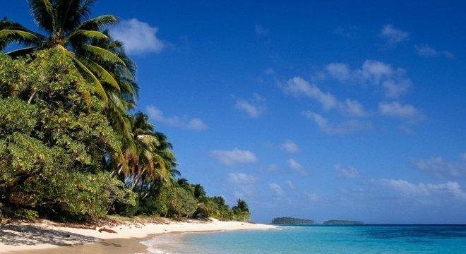As correntes oceânicas costumam levar detritos (e drogas) para as Ilhas Marshall