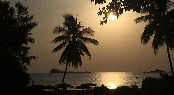 Destino tradicional para europeus e asiáticos, as praias do Sri Lanka recebem um fluxo muito menor de turistas após ataques de abril deste ano