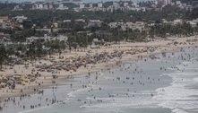 SP: 12 cidades furam restrição e litoral tem praias cheias