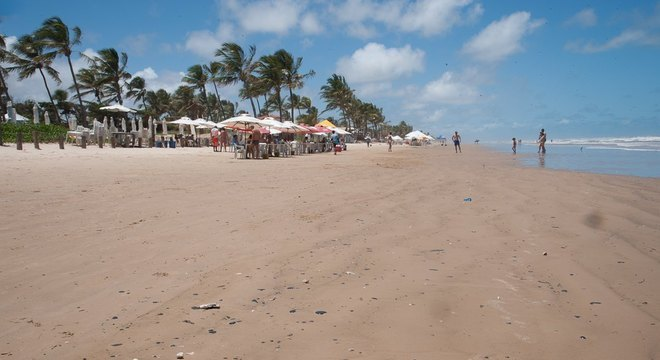 Praias do litoral Norte e Sul estão impróprias para banho