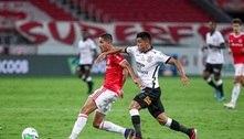 Com gol anulado no fim, Inter só empata com o Corinthians e é vice