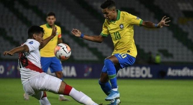 Seleção brasileira teve momentos opostos na partida