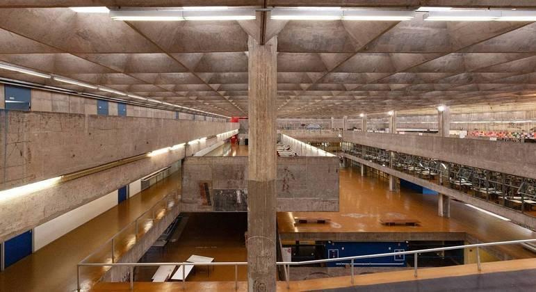 Prédio da Faculdade de Arquitetura e Urbanismo da USP