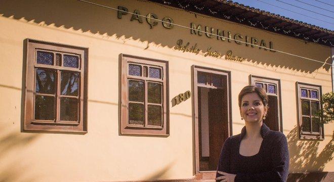 Daniela de Cassia Santos Brito, de 39 anos, prefeita de Monteiro Lobato