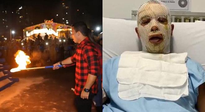 """Em vídeo, prefeito diz que médico o considerou """"fruto de um milagre"""""""