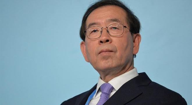 A polícia acredita que o ex-prefeito de Seul, Park Won-soon, suicidou-se