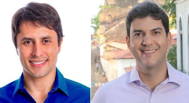 Duarte (à esq.) tem 41% e Eduardo Braide lidera pesquisa com 47%