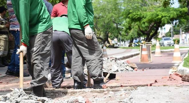 Prefeitura de SP inicia obras de recuperação das ciclovias na capital