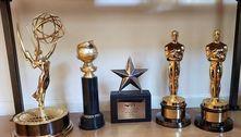 Após prêmio no Globo de Ouro, Jane Fonda mostra troféus