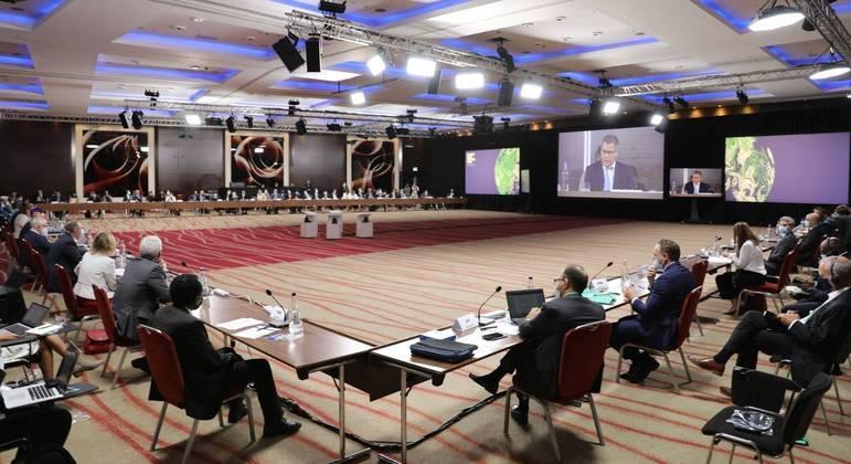 Líderes de mais de 50 países participaram da preparação para a COP26 que acontece em novembro