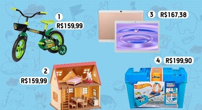Presentes para o dia das crianças: ideias que cabem no bolso