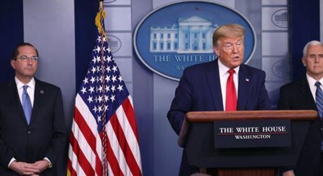 Presidente americano comunicou que se realiza um