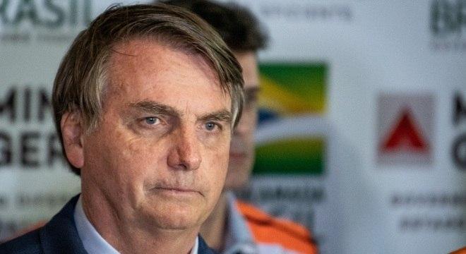 O presidente Jair Bolsonaro que assinou MP com novo valor do salário mínimo