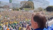 Ato em Brasília tem discurso contra STF e 'ultimato' de Bolsonaro