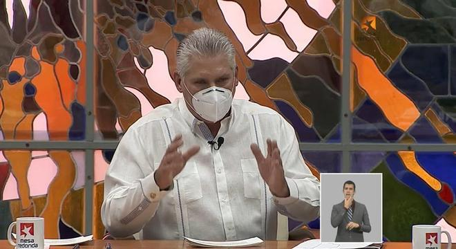 Miguel Diaz-Canel, presidente de Cuba, reconheceu vitória de Biden