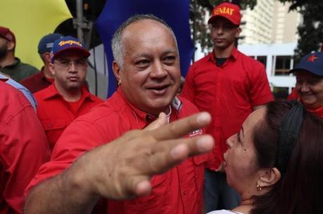 Diodado Cabello é presidente do PSUV e da ANC