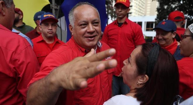 Presidente da Assembleia Nacional Constituinte Diosdado Cabello está com coronavírus