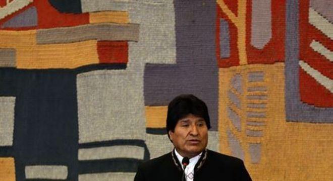 Presidente da Bolívia ainda mandou um recado para a direita