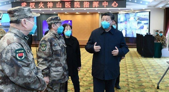O governo do presidente Xi Jinping afirma que o país vai superar as consequências da pandemia de coronavírus