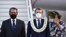 Macron é pressionado para se desculpar por testes nucleares