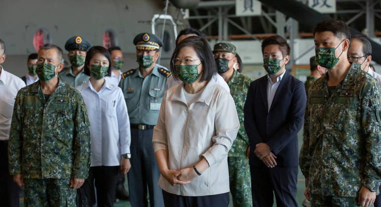 Tsai Ing-wen deseja prosperidade da região Indo-Pacífico precisa de um ambiente pacífico