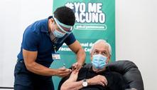 Presidente do Chile recebe 1ª dose da vacina contra covid-19