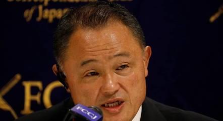 Yasuhiro Yamashita, presidente do Comitê Olímpico Japonês